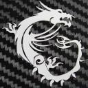 MSI Gaming G Series Metal Logo Sticker