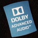Dolby Advanced Audio Logo Sticker (Blue)