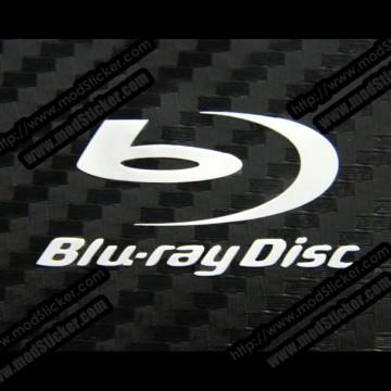 Blu-ray Disc Metal Logo Sticker