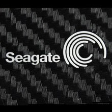 Seagate Metal Logo Sticker