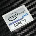 New Intel Inside Core i7 Logo Sticker (Silver)