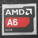 (New) AMD A6 Elite Logo Sticker