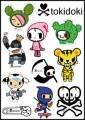 Tokidoki Logo Stickers Set (Z33)