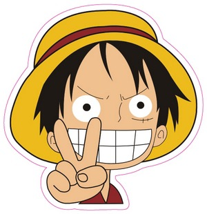 One piece logo sticker d516 - Stickers muraux one piece ...