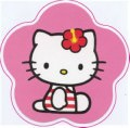 Hello Kitty Logo Sticker (2337)