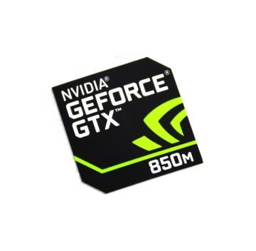Nvidia Geforce GTX 850M Logo Sticker