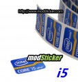 Intel Inside Core i5 vPro Logo Sticker