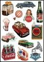 Coca-Cola & Classic Brands Logo Stickers Set (Z70)
