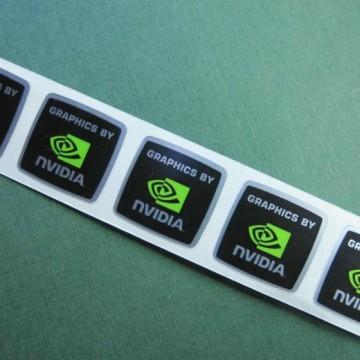Graphics by Nvidia Logo Sticker