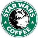 Star Wars Coffer Logo Sticker (D240)