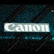 Canon Metal Logo Sticker