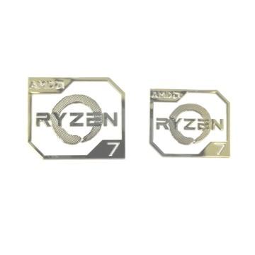AMD Ryzen Metal Logo Sticker (R7)