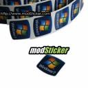 Windows 7 Logo Sticker (Bulk 100 Pack)