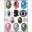 Ape Logo Stickers Set (Z71)