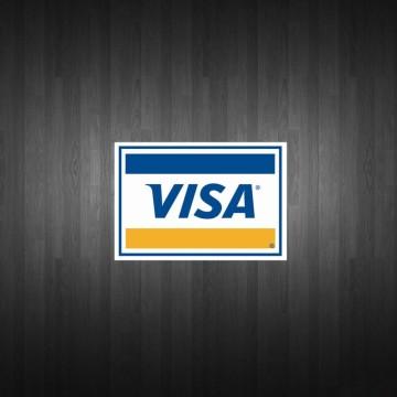 VISA Logo Sticker (D237)