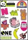 Brands Logo Stickers Set (Z2)