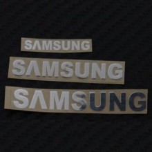 Samsung Metal Logo Sticker