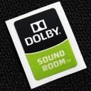 Dolby Sound Room Logo Sticker