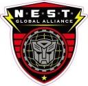 Transformers N.E.S.T. Global Alliance Logo Sticker (D205)