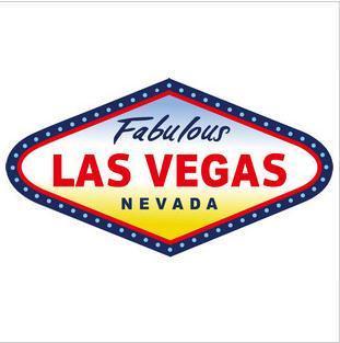 Fabulous Las Vegas Nevada Logo Sticker D378 Modsticker Com