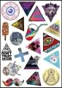Trendy Logo Stickers Set (Z107)