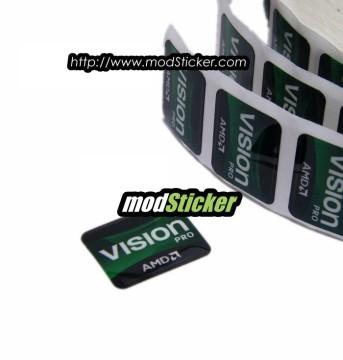 AMD Vision Pro Logo Sticker