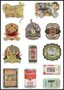 Classic Logo Stickers Set (Z13)