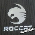 Roccat 2 Metal Logo Sticker