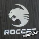 Roccat 2 Metal Logo Sticker