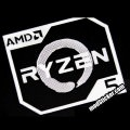 AMD Ryzen Metal Logo Sticker (R5)