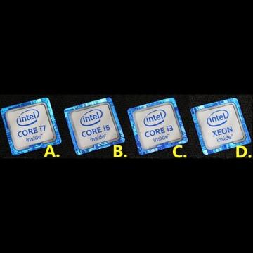 New 6th Generation Skylake Intel Inside Core i7 i5 i3 Xeon Logo Sticker