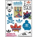 Adidas Logo Stickers Set (Z75)