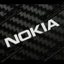 Nokia Metal Logo Sticker
