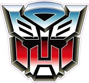 Transformers Logo Sticker D201 Modsticker Com