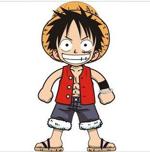 One piece sticker d384 - Stickers muraux one piece ...