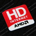 AMD HD Internet Logo Sticker