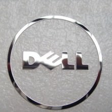 Dell Metal Logo Sticker (Circle)