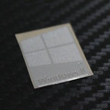 Windows 8 Metal Logo Sticker (Large)