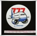 Boeing 777 Sticker (D52)