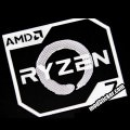 AMD Ryzen Metal Logo Sticker (R7)