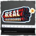 Real Skateboards Sticker (D358)