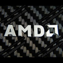 AMD Metal Logo Sticker