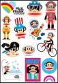 Paul Frank Logo Stickers Set (Z23)