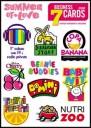 Cute Brands Logo Stickers Set (Z53)
