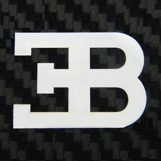 Bugatti metal logo sticker modsticker voltagebd Gallery