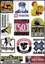 Brands Logo Stickers Set (Z8)