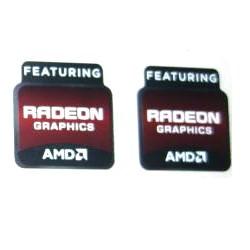 (New) AMD Featuring Radeon Graphics Logo Sticker