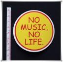 No Music No Life Sticker (D94)