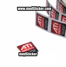 ATi Eyefinity Multi-Display Technology Logo Sticker