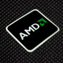 AMD Black Logo Sticker